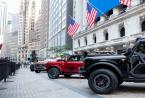 福特在纽约证券交易所首次亮相全新F150和Bronco