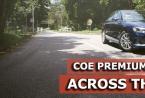 在8月的第二轮招标中所有类别的COE保费均上涨