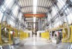 河钢集团为陕汽集团定制的高端冷轧汽车钢下线
