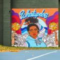 脚柜通过多城市艺术系列庆祝篮球之爱