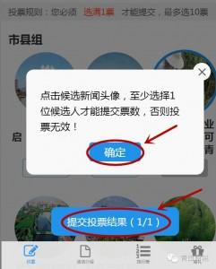 青田广播电视台双十佳好新闻评选微信投票教程