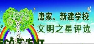 唐家新建学校文明之星评选活动投票流程