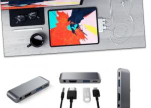 Satechi iPad Pro USB-C集线器坚持基础知识